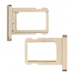 """Champagne Gold Nano Sim Card Tray Holder Silver Replacement For iPad Pro 12.9"""""""