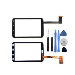 Touch Screen Digitizer Front Glass New Replacement For HTC Wild Fire S G13 A510e Black