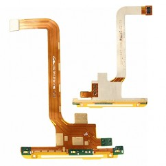 Bottom Navigation Light Microphone Speaker Flex Cable For HTC One X S720e G23