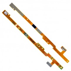 On Off Power Key Flex Cable Audio Jack Connector Part For Nokia Lumia 720 N720