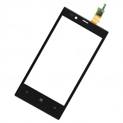 Black Front Touch Screen Digitizer Glass Lens Repair For Nokia Lumia 720 N720