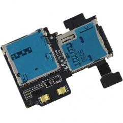 SD SIM Card Reader Holder Slot Flex For Samsung Galaxy S4 GT i9500