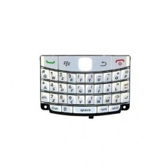 Blackberry Bold 9700 & 9780 White UK Qwerty Keypad - Keyboard / Buttons