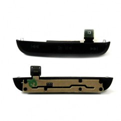 Original Black Top Media Buttons For Blackberry Pearl 9105 & 9100 Housing Flex