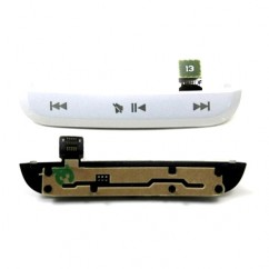 Original White Top Media Buttons For Blackberry Pearl 9105 & 9100 Housing Flex