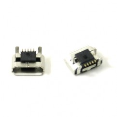 Genuine Blackberry Pearl 9105 9100 Usb Charging Port Micro Plug Connector Block