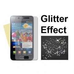 Superior Glitter LCD Screen Protector Guard Film For Samsung Galaxy S2 I9100